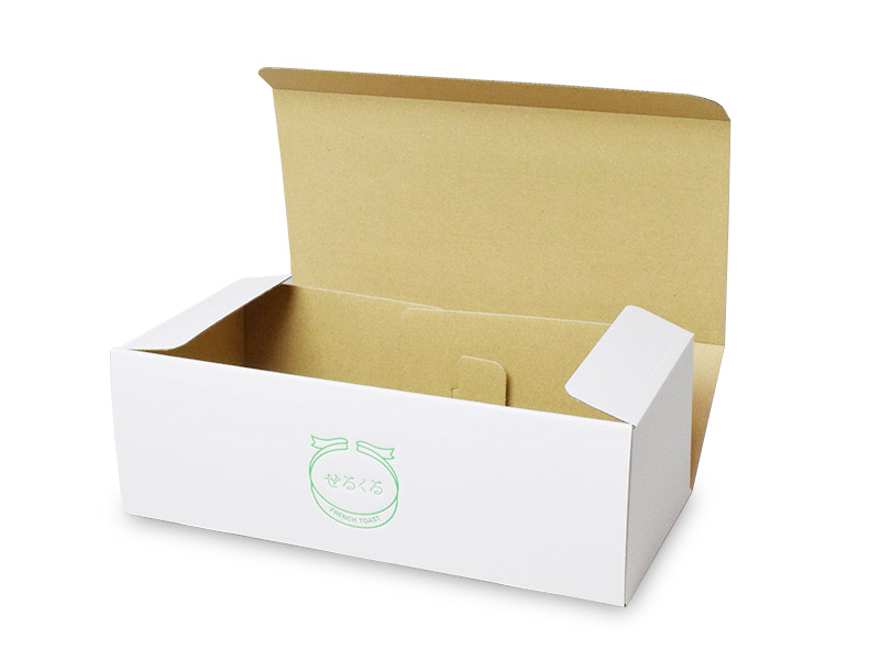 せるくる様 冷凍食品用ギフト箱 ふたを開けたところ
