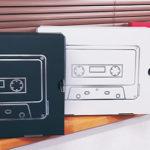 Side-Bクリエーション様オリジナルパッケージのカラーバリエーション(黒・白・赤)